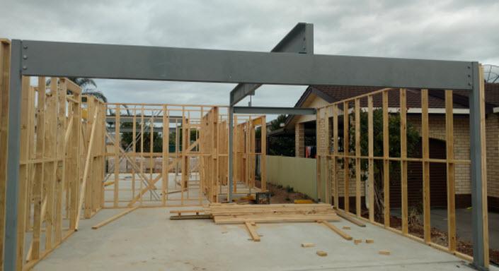 steel-work-framing
